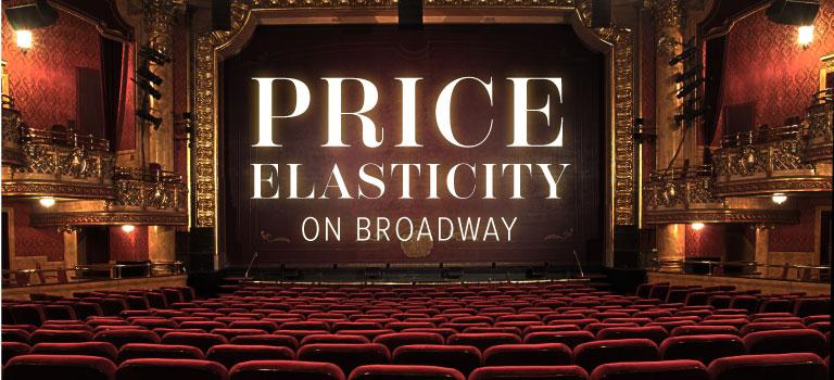 Price of Elasticity on broadway